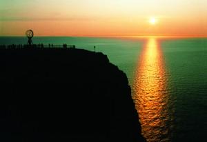 N-Nordkap_Sonnenuntergang
