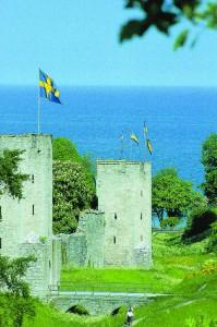 Burg auf Gotland