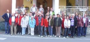 Wandern in der Cinque Terre - Gruppenfoto
