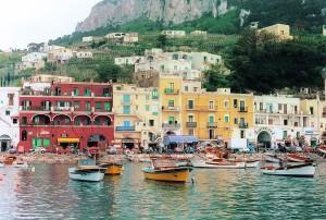 Hafen - Insel Capri