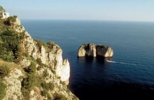 Insel Capri - Küste