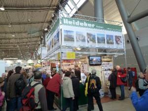 CMT '11 - Heideker Reisen-Stand auf der Urlaubs-Messe in Stuttgart
