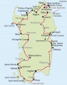 Rundreise Sardinien mit Heideker Reisen