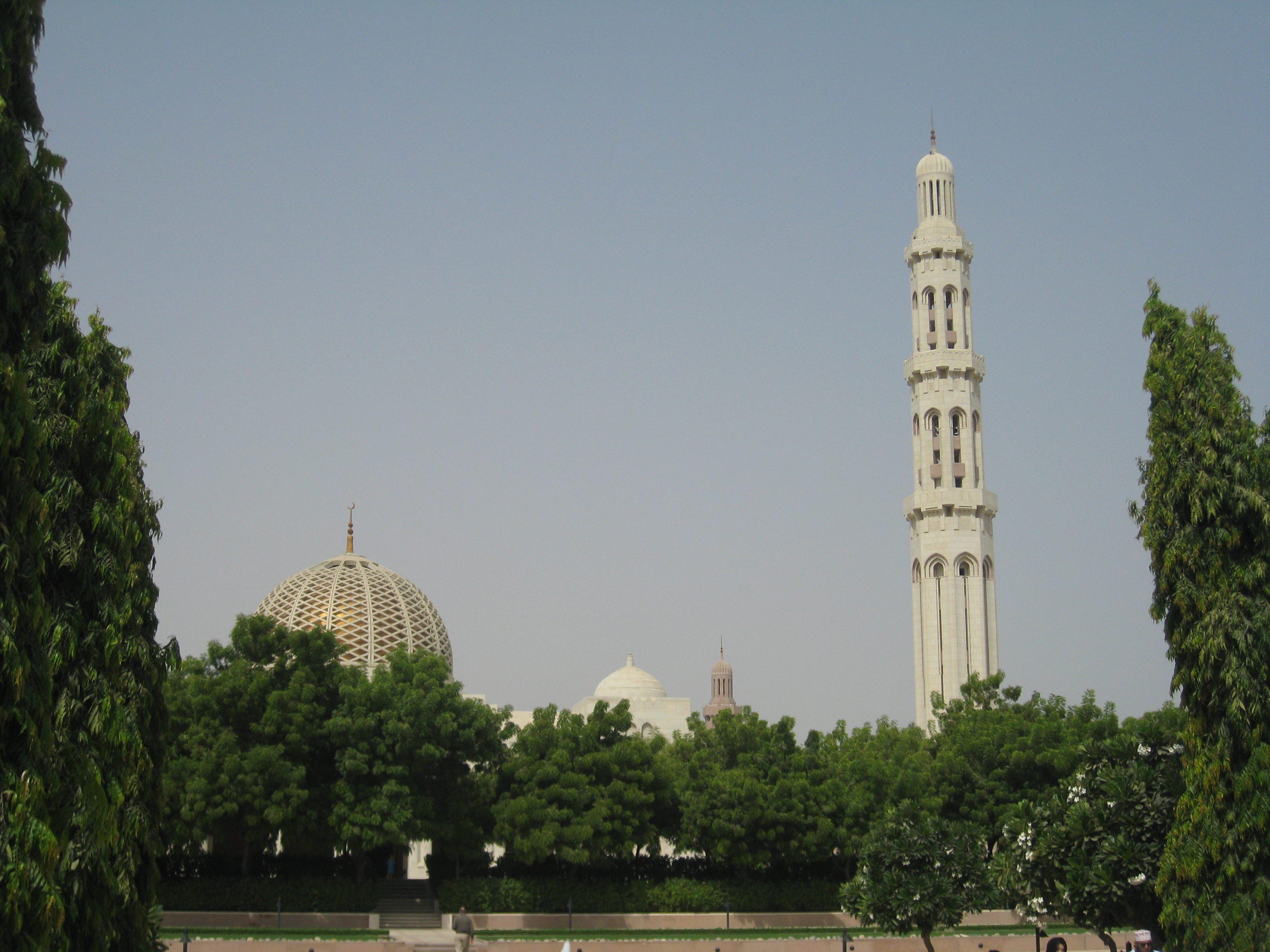 Rundreise Oman - Grosse Sultan-Qabus-Moschee in Maskat - Heideker Reisen