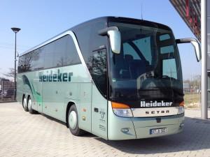Heideker Reisebus 502 - neu vom Werk - 04-2012