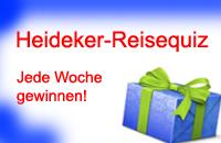 Heideker-Reisequiz - Jede Woche gewinnen