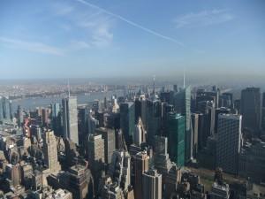 USA_New York-Städtereise_Empire State Building_Blick Richtung Times Square_Heideker Reisen_1