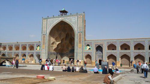 Iran-Isfahan-Freitagsmoschee-Heideker-Reisen