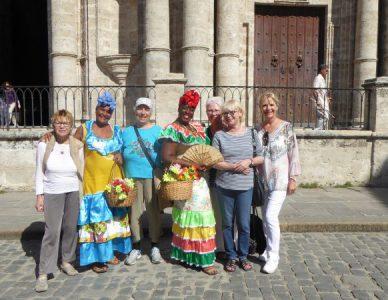 Kuba-Havanna-Reiseteilnehmerinnen-Heideker-Reisen
